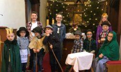 Weihnachtsstern erzählt Geschichte der Geburt Jesu