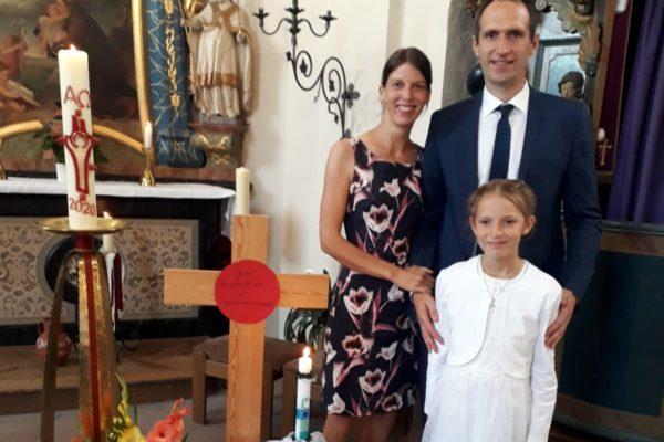 Erstkommunion in Fölsen
