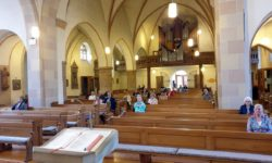 1. Gottesdienst nach Corona-Pause
