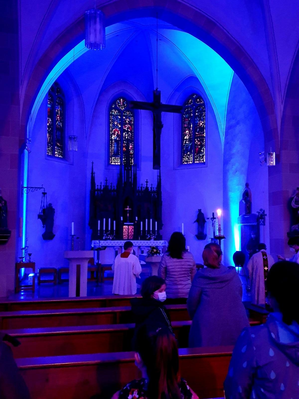 Osternachtsfeier in Peckelsheim